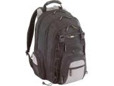 "Targus Black/Gray 15.4"" CityGear Chicago Notebook Backpack Model TCG650 (Targus: TCG650)"