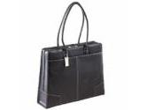 """Targus Black 15"""" Elegant Leather Tote Model TLT007 (: TLT007)"""