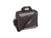 "Targus Black/Gray/Yellow 15.4"" CityGear New York Notebook Case Model TCG400 (Targus: TCG400)"
