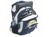 Targus Explorer Notebook Backpack - NAVY, Grey And BLACK. Fits Notebooks Up to 15.4INCH (Targus: TSB04404CA)