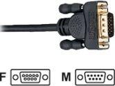 Tripp Lite 6 ft. Null Modem Gold Cable DB9F to DB9M (Tripp Lite: P454-006)