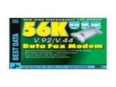 Best Data Diamond SupraMax fax / modem (Best Data Products: SM56USBSL-CN)