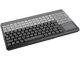 Cherry Keyboard Black QWERT TP Black 14  USB kbd w/ Touchp.. US 123 layout w/ 20 add. keys. 123