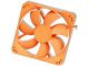 Nexus 120MM Real Silent Case Fan Orange 1000RPM 22.8DBA 36.87CFM 3/4PIN
