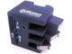 Power Data Mini Cube Card Reader with 3-Port Rotatable USB 2.0 Hub
