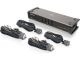 IOGEAR 4 Port DVI KVMP Switch Audio Microphone USB with Cables
