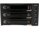 StarTech SATSASBAY3BK 3 Drive 3.5in Removable Mobile Rack SAS/SATA Backplane