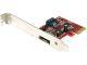 StarTech 1x eSATA + 1x SATA 6 Gbps PCI Express SATA Controller Card Adapter Model PEXSAT31E1