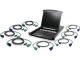 "Iogear 17"" Lcd/8-Port Kvm Switch /8 Usb Cable"