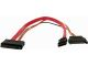 """StarTech 12"""" Micro SATA to SATA with SATA Power Adapter Cable"""