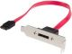 StarTech ESATAPLT1LP 1ft Low Profile SATA to eSATA Plate Adapter