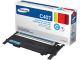 Samsung - It Consumables Cyan Toner for CLP-320/325/ CLX-3180 Series 1K Yield