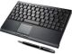 SolidTek Black 2.4GHz Wireless Keyboard with TouchPad