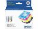 Combo Ink Cartridges Cmyk STD Prnt Cap Single Facing