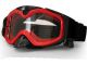 Liquid Image Impact Series 5.0MP HD720P Integrated MX Goggle/Camera for Motor/OffRoad Sports - Red