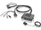 IOGEAR GCS982U 2-Port Dual-Link DVI Cable KVM with Audio