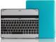 Hipstreet iPad 2/3/4 Case With Bluetooth Multimedia Keyboard Aluminum Housing Blue