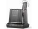 Plantronics W745 Convertible Savi Unlimited Talk Time DECT Bluetooth Call Management Headset