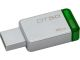 Kingston DT50/16GB CR 16GB USB 3.0 DataTraveler 50 METAL/GREEN Flash Memory