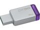 Kingston DT50/8GBCR 8GB USB 3.0 DataTraveler 50 METAL/PURPLE Flash Memory